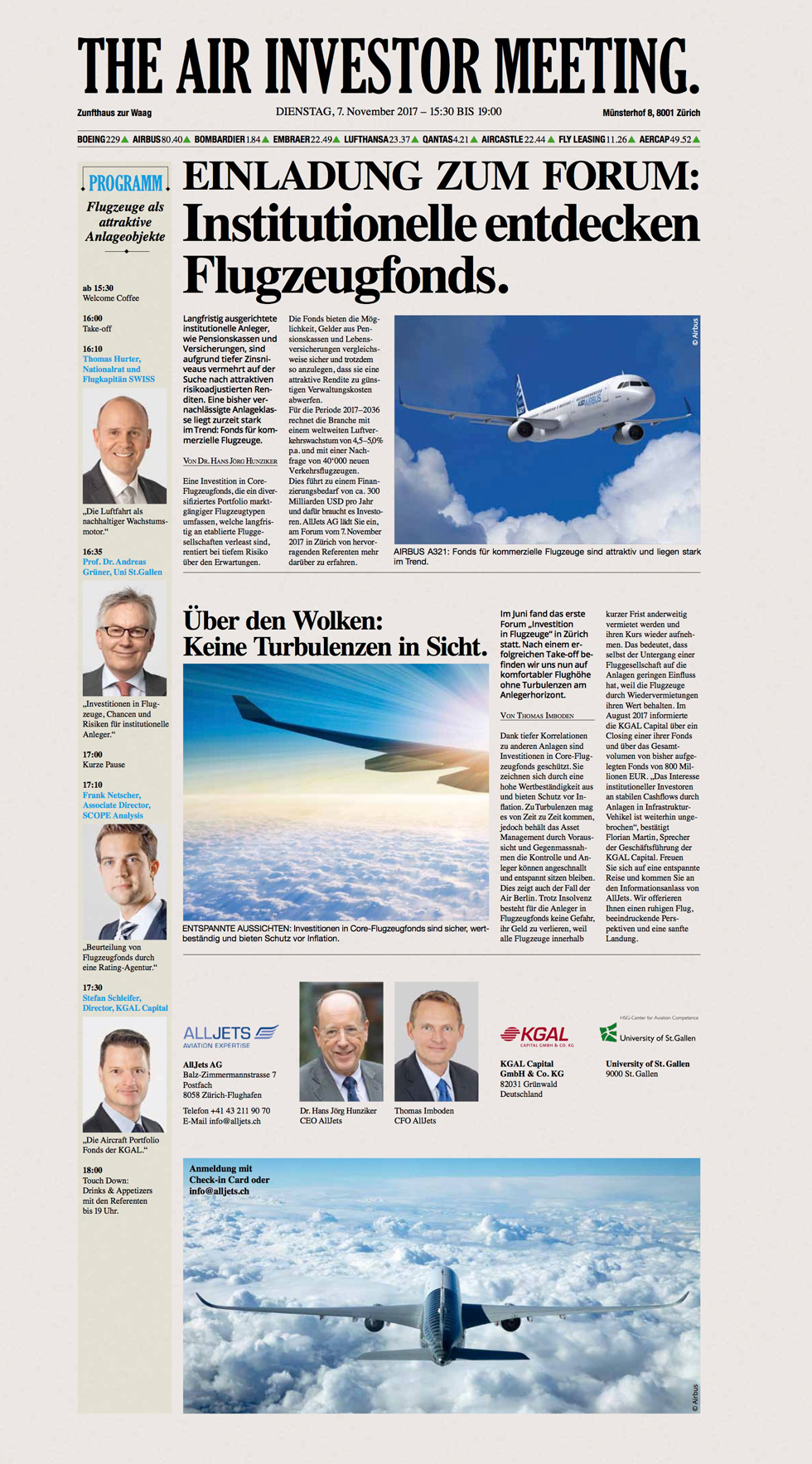 Flugzeug Forum Flyer